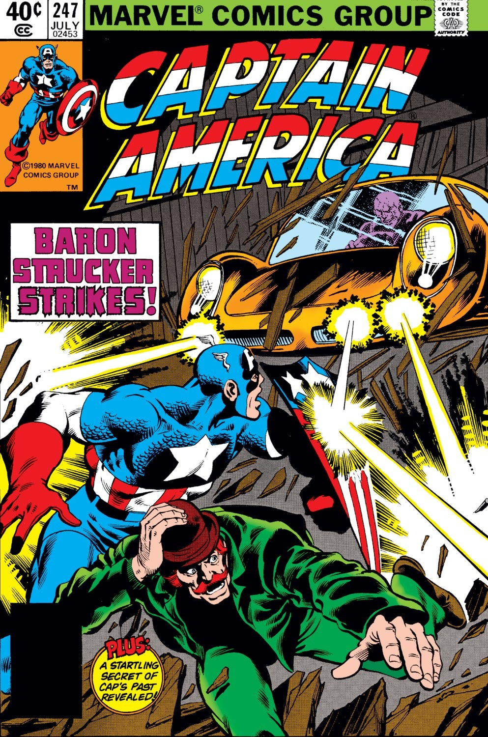 Captain America (1968) Issue #247 #162 - English 1