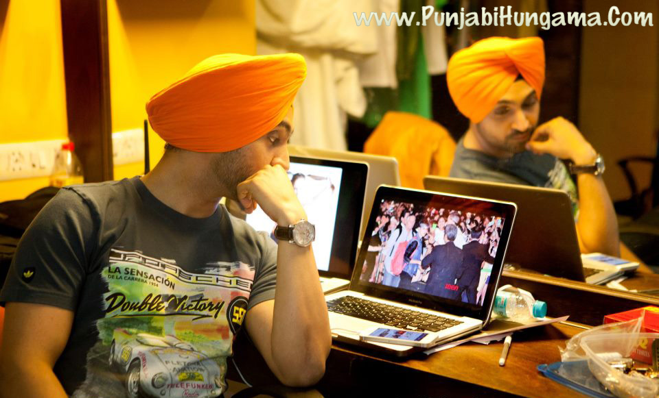 Diljit Dosanjh in Jatt and Juliet 2 Wallpaper