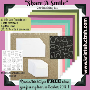 "EXCLUSIVE ""Share A Smile"" Cardmaking Kit"