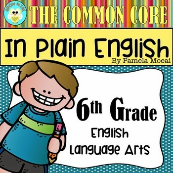ELA CC Resource - 6th Grade