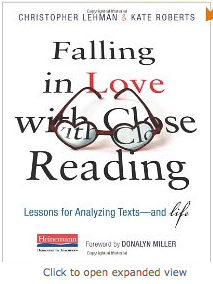 http://www.amazon.com/Falling-Love-Close-Reading-Texts/dp/0325050848