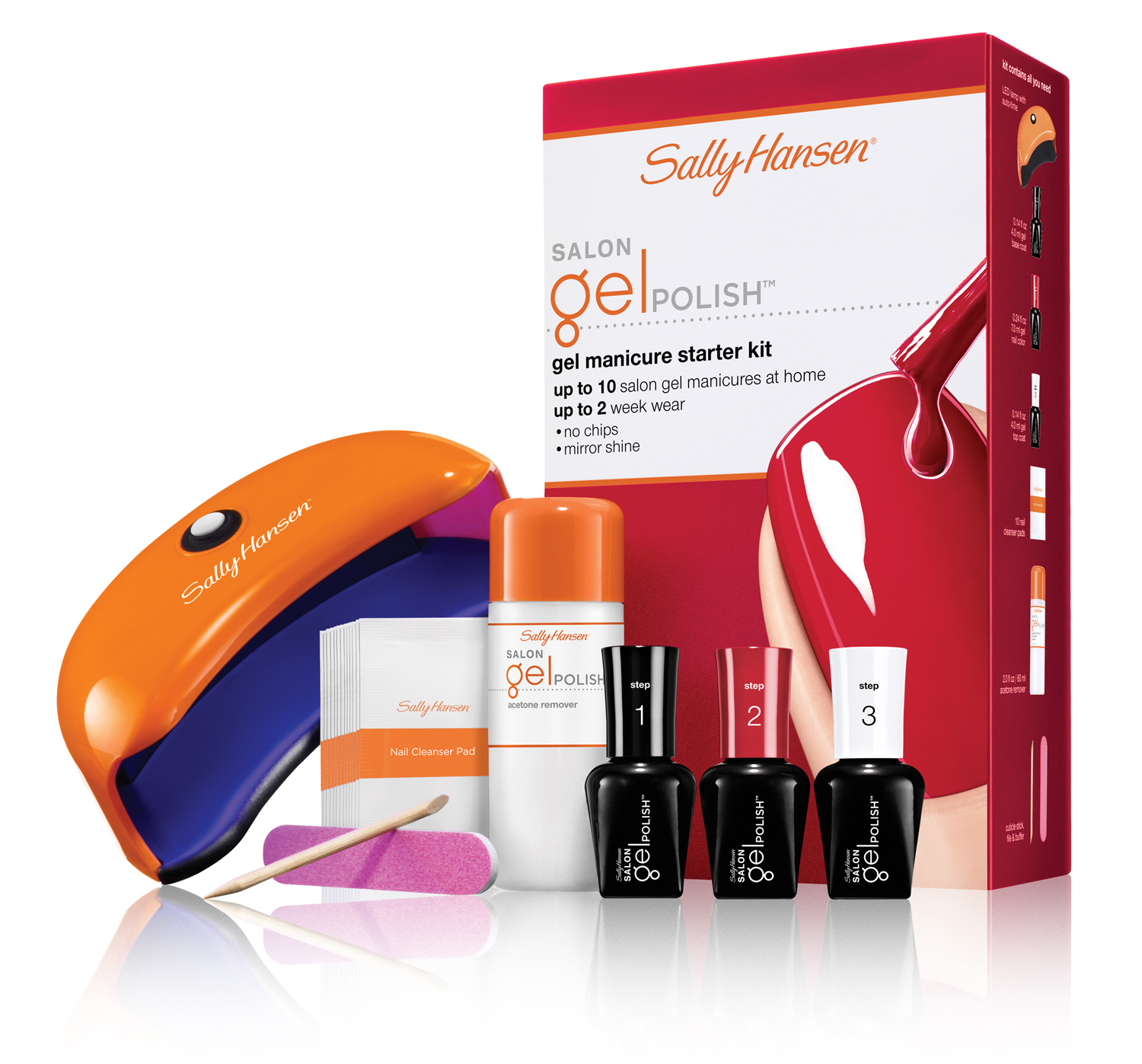 Chalkboard Nails News: Sally Hansen At-Home Gel Manicure Systems