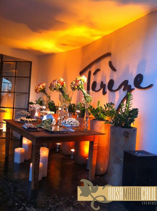 mesa café, velas, arranjos florais, decoração, casamento