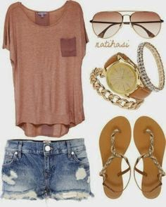 summer outfit, , necklaces, glasses, casual shirt