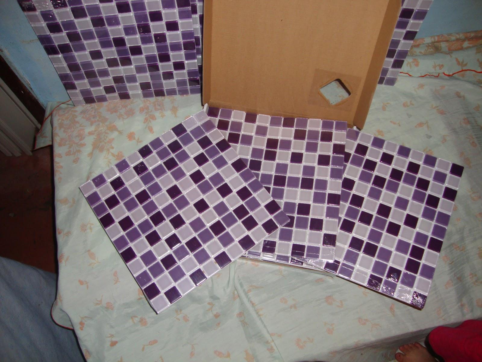 Banheiro Com Pastilhas De Vidro Lilas  rinkratmagcom banheiros decorados 2017 -> Banheiros Decorados Lilas
