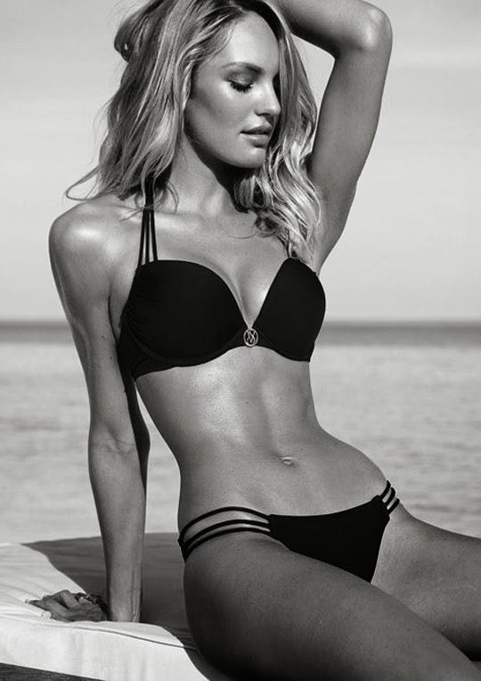 La modelo Candice Swanepoel en bikini