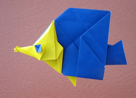How To Origami Butterfly. origami Butterfly Fish 3D