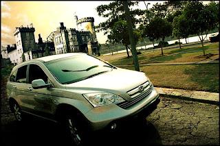 Road 2012 Version of Honda CR V