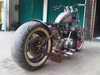 Honda CB Modif Chopper