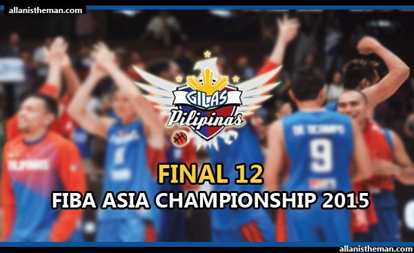 Gilas Pilipinas Final 12 to be named after Jones Cup