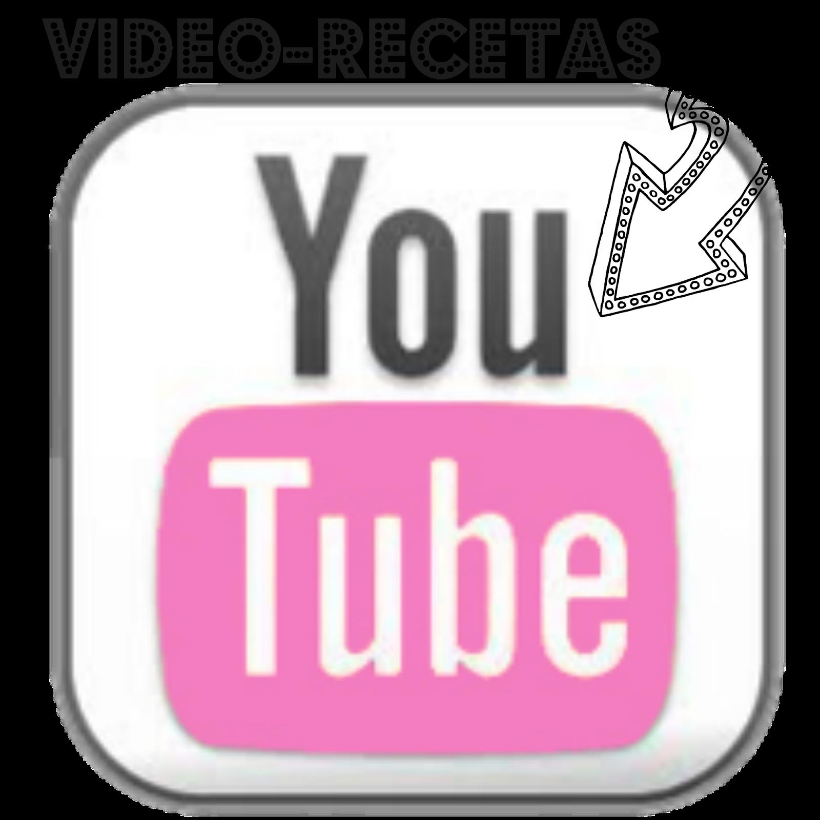 NO TE PIERDAS LAS VIDEO RECETAS Y SUSCRIBETE AL CANAL