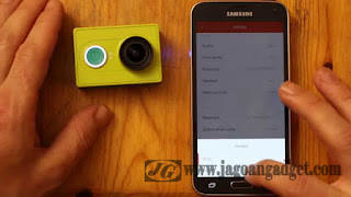 Xiao Yi dapan konek pada smartphone android dan ios