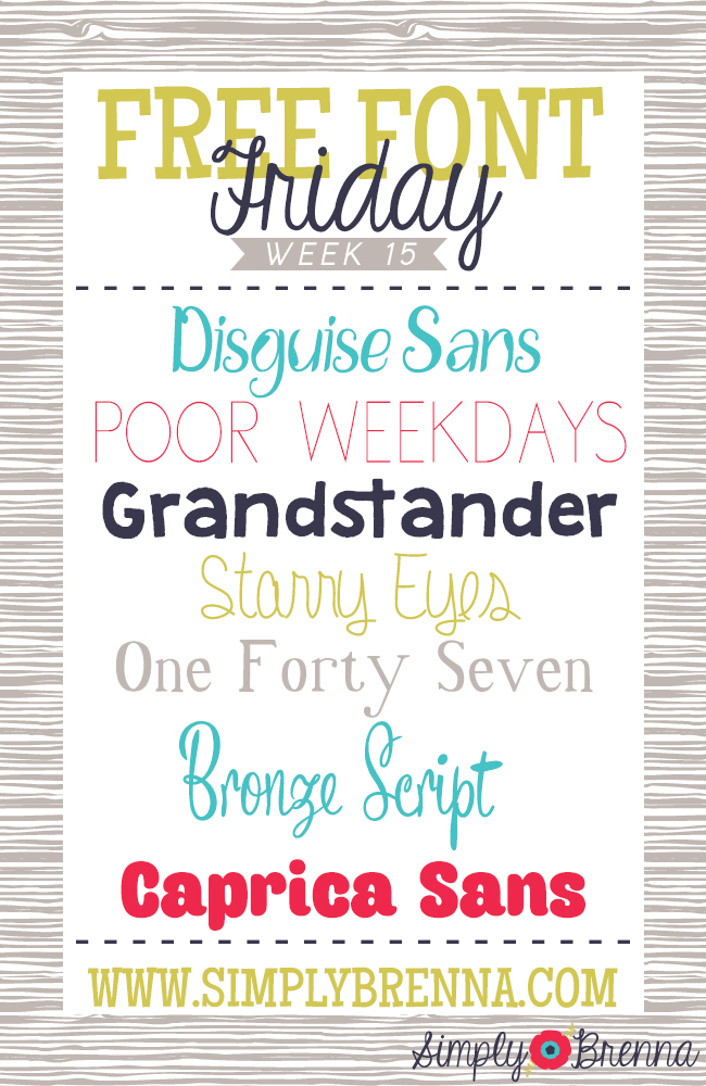 free font download links simply brenna