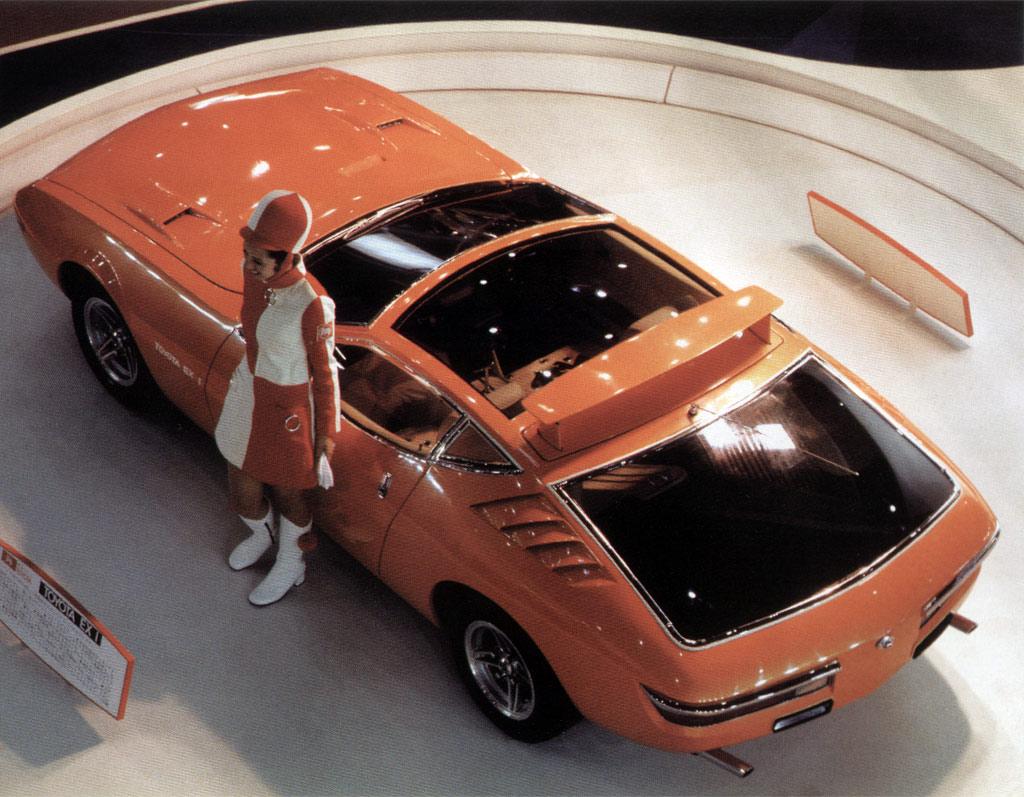 Toyota EX-1, Celica, koncept, prototyp, Tokyo Motor Show 1969