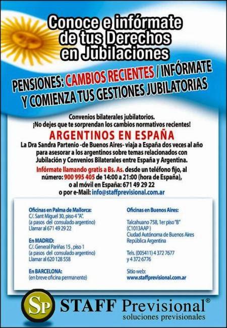 Convenios Bilaterales entre España y Argentina