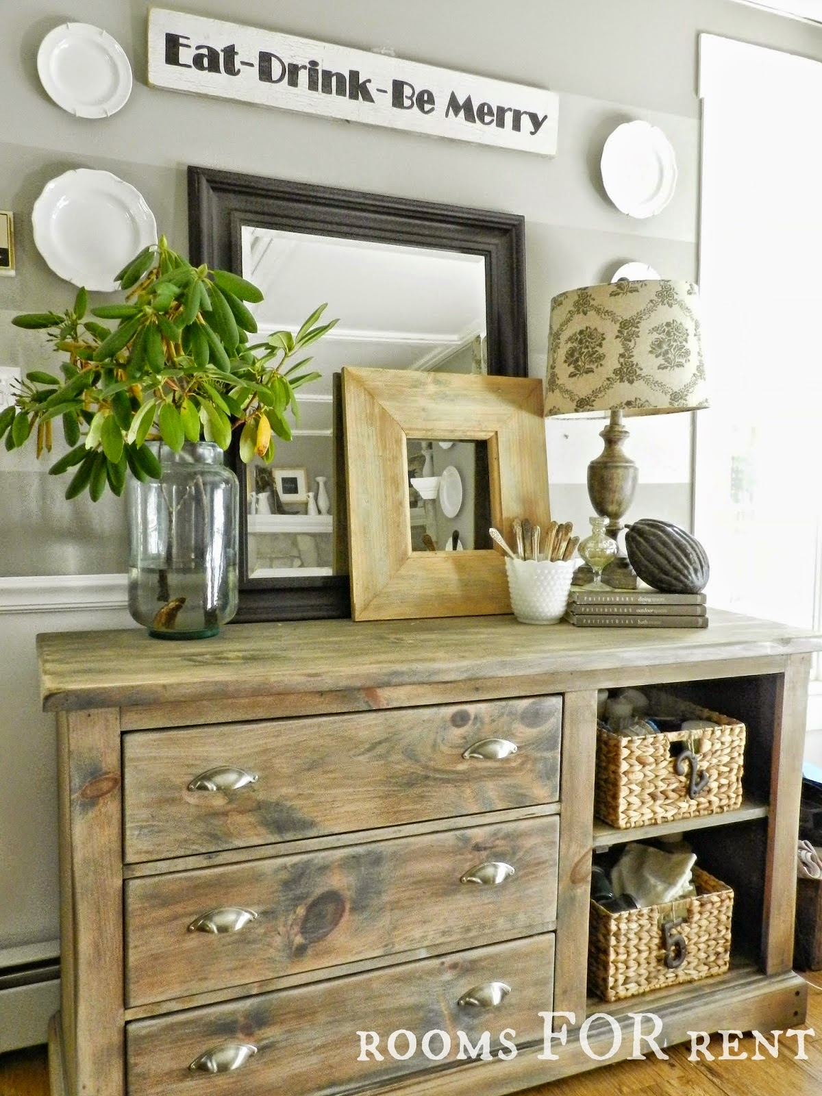 Long Wall In Kitchen On Pinterest Console Tables