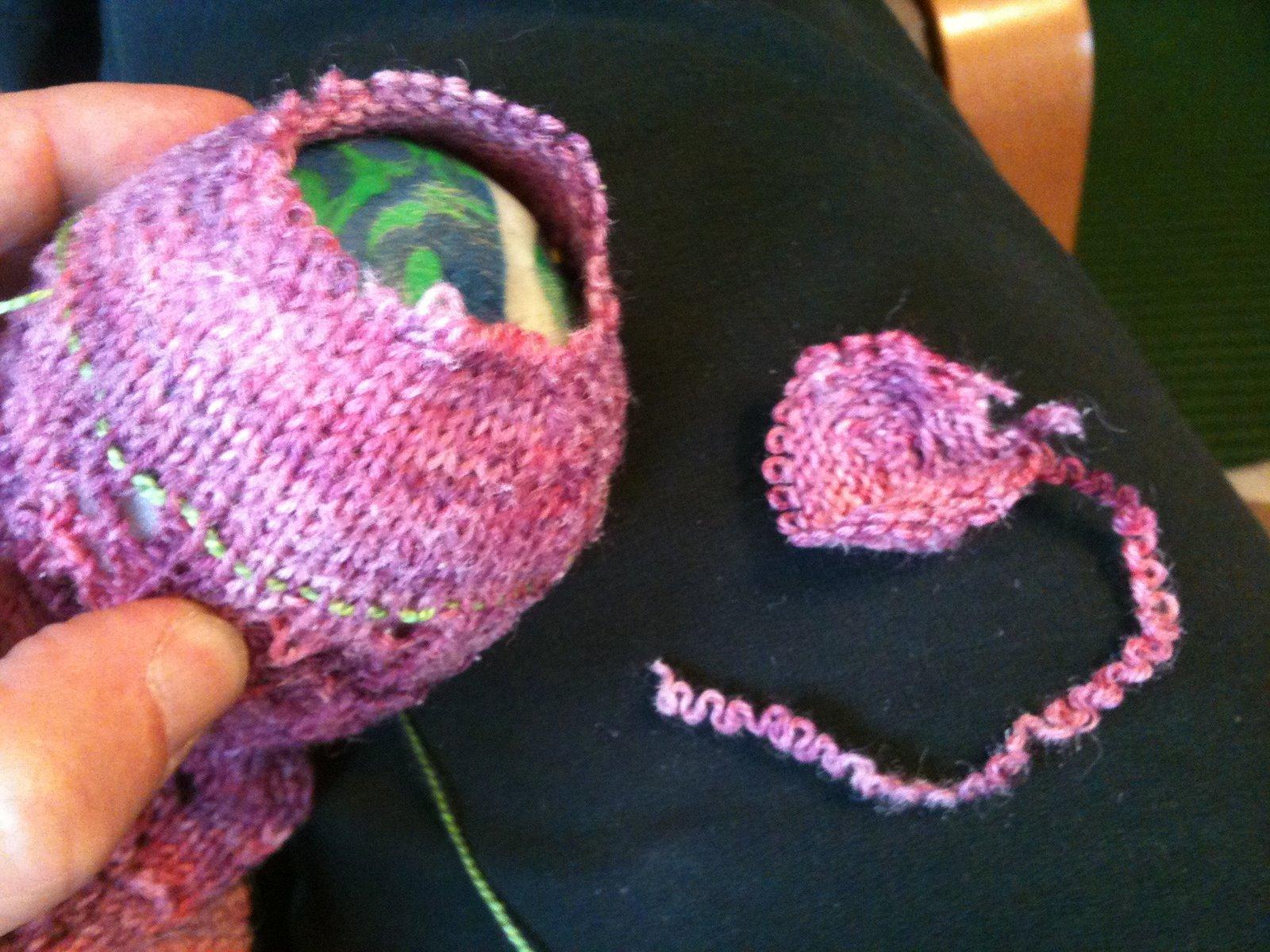 Knitting Lifeline Hole : Knit better socks fixin reknitting the toe