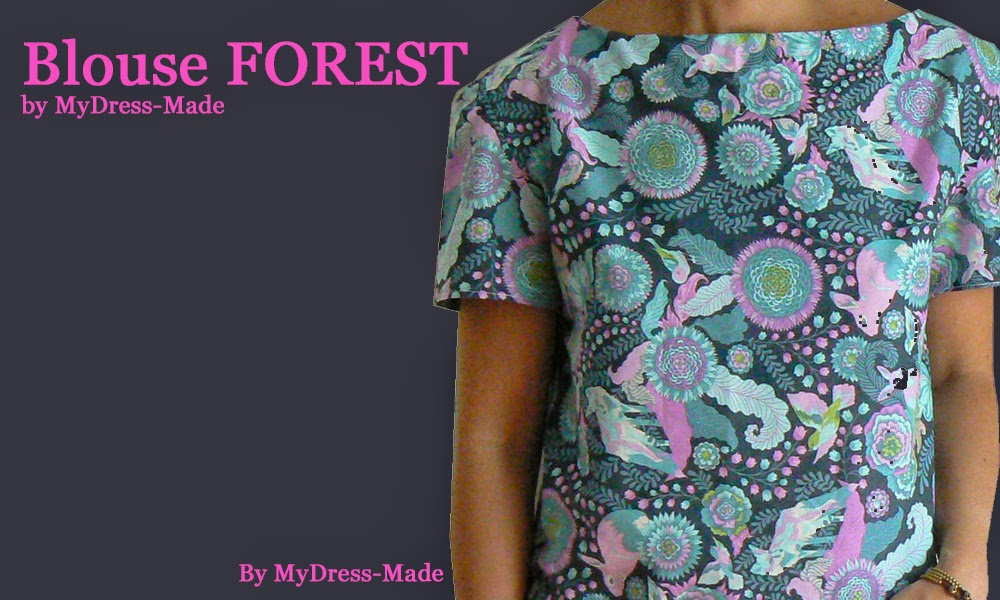 Blouse FOREST by MDM