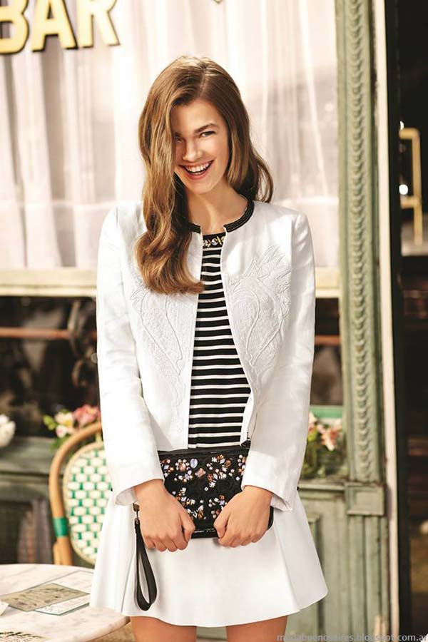 Moda primavera verano 2015. Faldas de moda 2015 Uma.