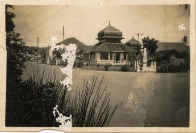 masjid raya singkawang photo jadul