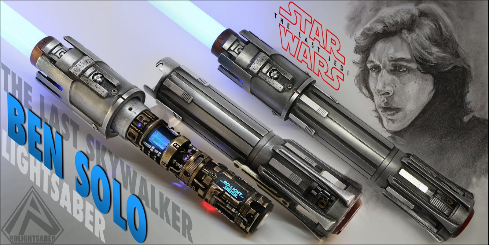 BEN SOLO the last SKYWALKER lightsaber