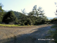 Road from Fethiye to Kayakoy