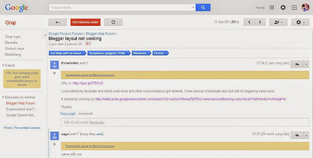 Template Blogger Error di Auto Readmore