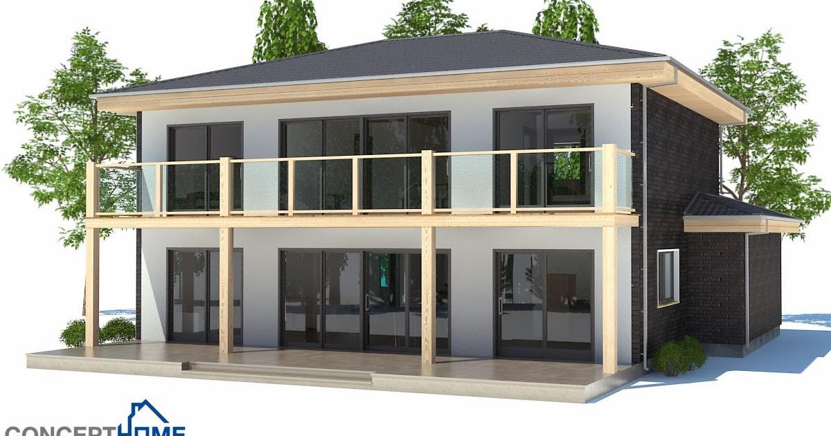 Plantas de casas modernas planta de casa moderna ch176 for Casa moderna 2014 espositori