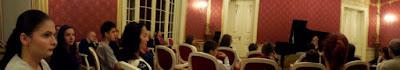 multi copii la recitalul de la Muzeul de Arta Craiova