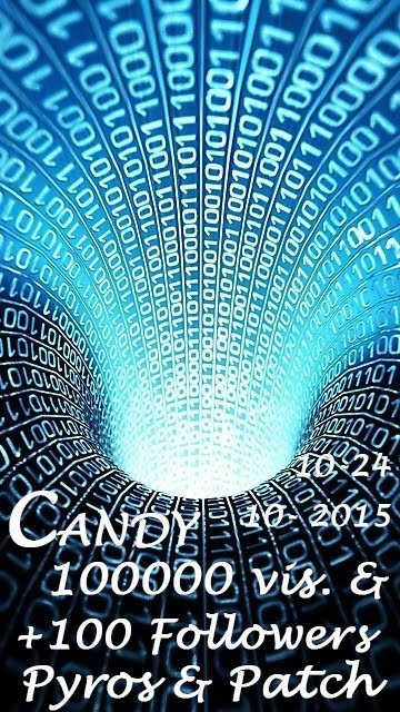 Candy 100000 vis. & +100 Followers - Pyros & Patch