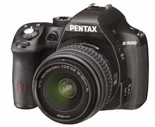 Harga & Spesifikasi Kamera DSLR Pentax K500