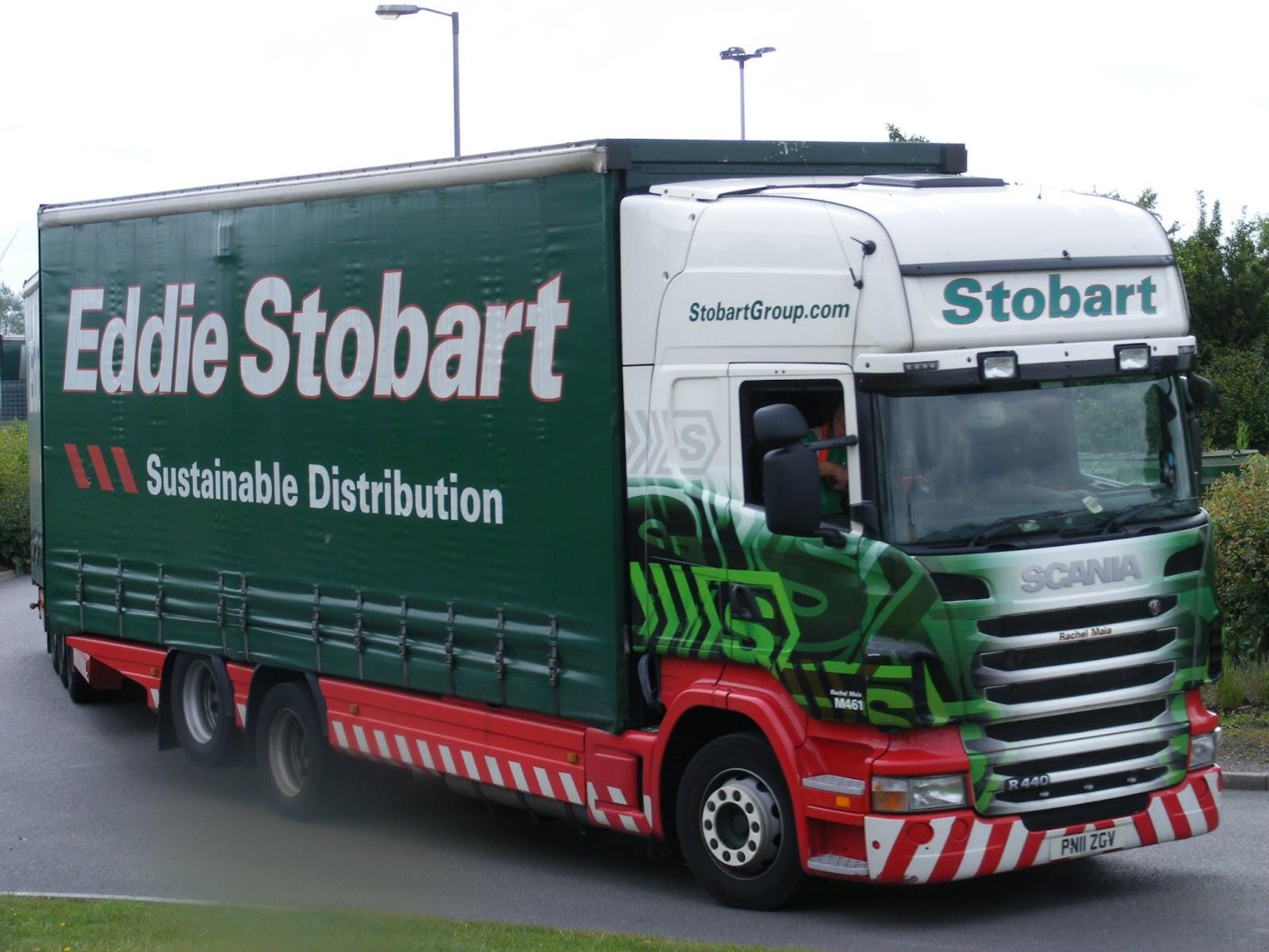 My Eddie Stobart Spots Eddie Stobart Truck Stop Rugby