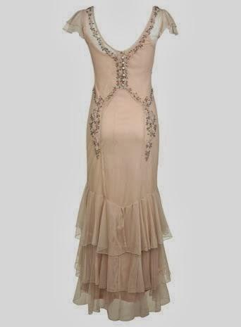 Nude Affordable Wedding Dress - Monsoon