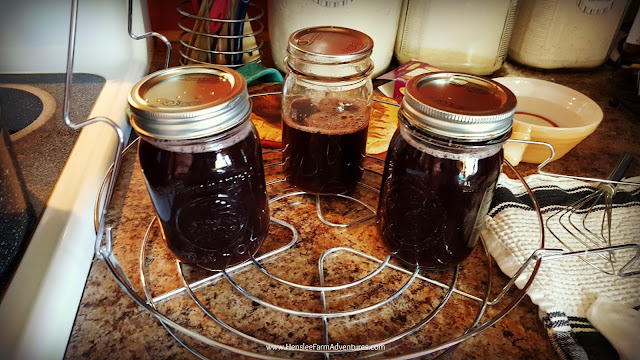 Ready to can Homemade Grape Jelly  www.hensleefarmadventures.com