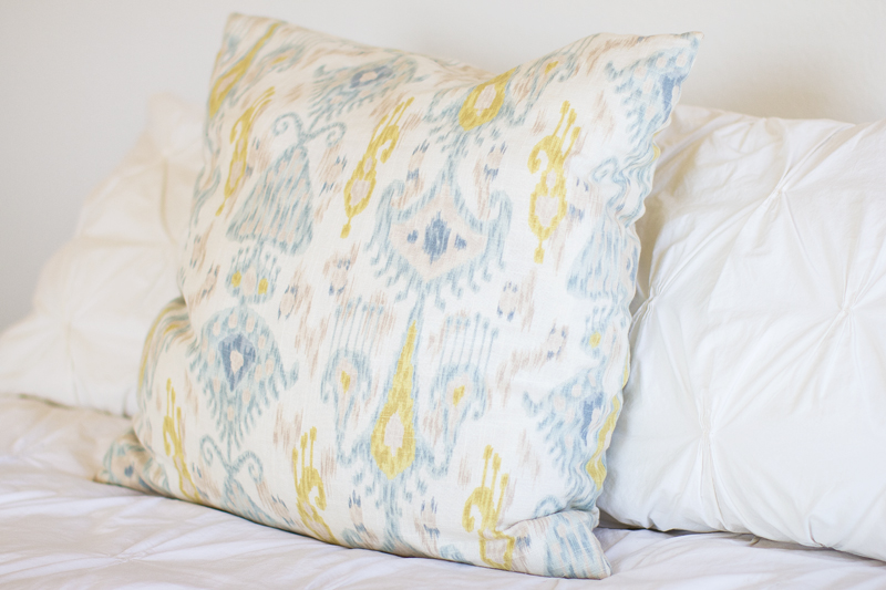 how to make a throw pillow cover