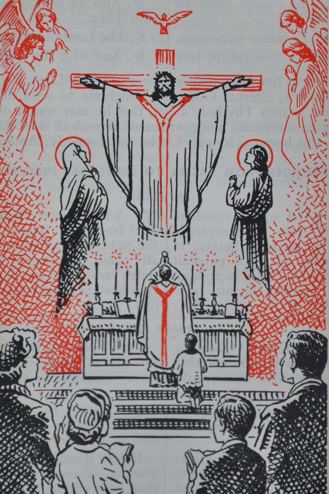 The Holy Mass: Thaj Txi Ntuj Ordo+missae