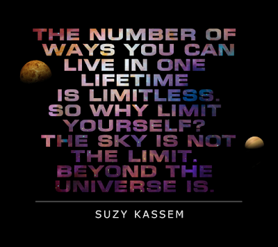The sky is not the limit. Beyond the universe is.