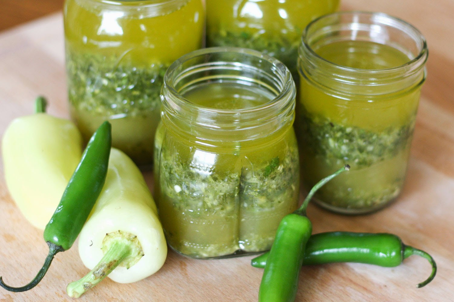 Mojo Marinade with jalapenos, garlic, orange, and lime! - get the recipe at barefeetinthekitchen.com