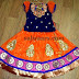 Heavy Patches Kids Lehenga