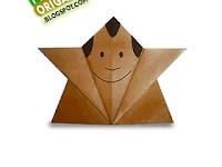Panduan Membuat Origami Boneka Orang-Orangan