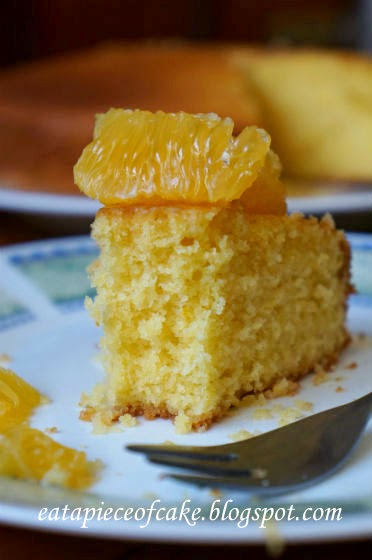 Piece of Cake: Orange Cornmeal Cake