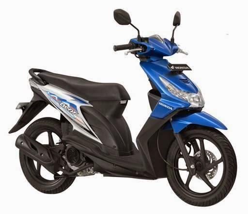 Daftar Harga Motor Honda Terbaru 2014