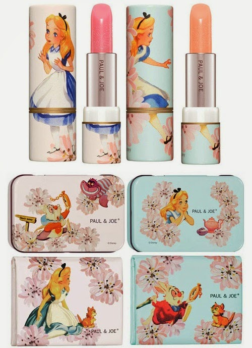 paul and joe lipsticks makeup cosmetics beauty paul&joe פול אנד ג'ו אסוס alice in wonderland collection
