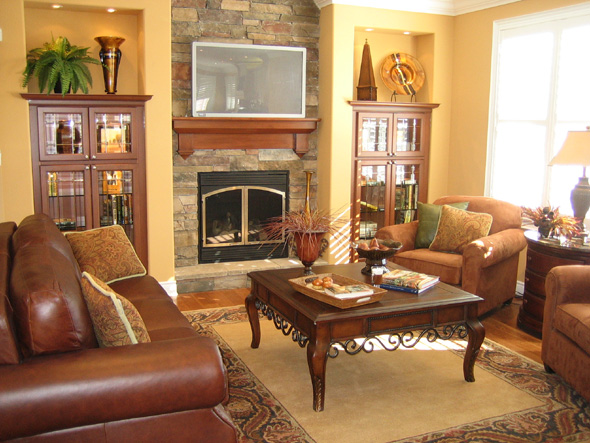 Impressive Living Room with Fireplace Decorating Ideas 590 x 443 · 122 kB · jpeg