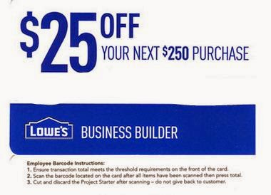 Lowes Printable Coupons February 2015