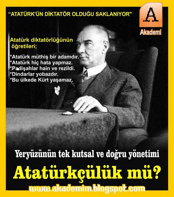 Mustafa Kemal Atatürkün Diktatörlüğü Saklanıyor Sabetayist
