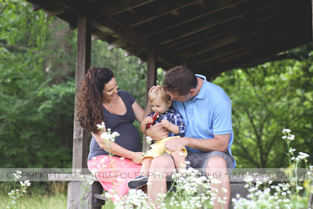 lifestyle family photo session at Fowler Park in Terre Haute