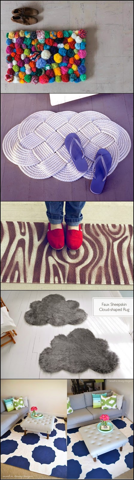 25 Amazing Rugs that You Can Make Yourself