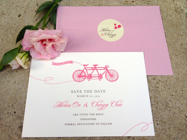 bespoke elements as their wedding invitation the invitation suite will ...