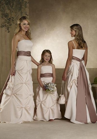 simple bridesmaid dress